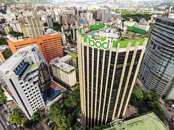 bod banco occidental de descuento edificio toma aerea